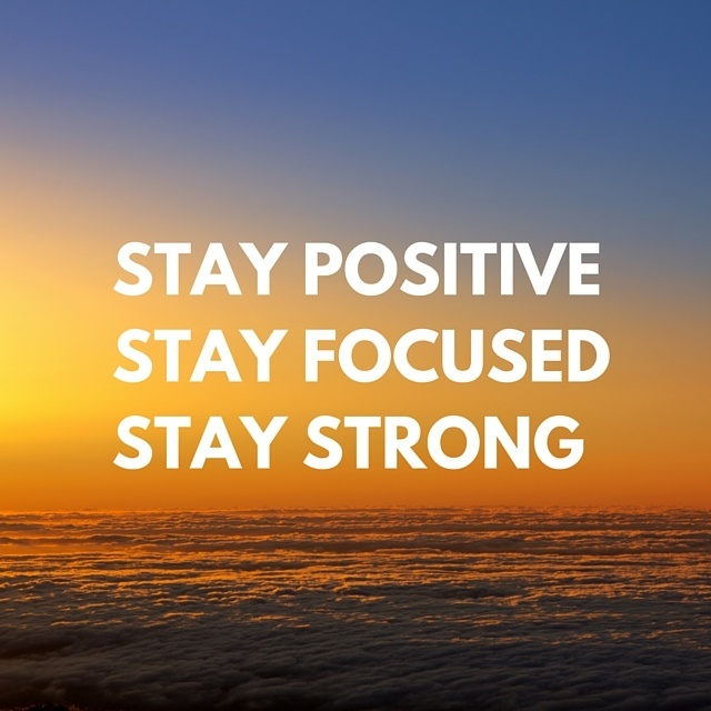 Drug Rehab Without Insurance Quote - Stay positive, stay focused, stay ...