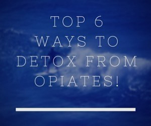 Detoxing From Opiates