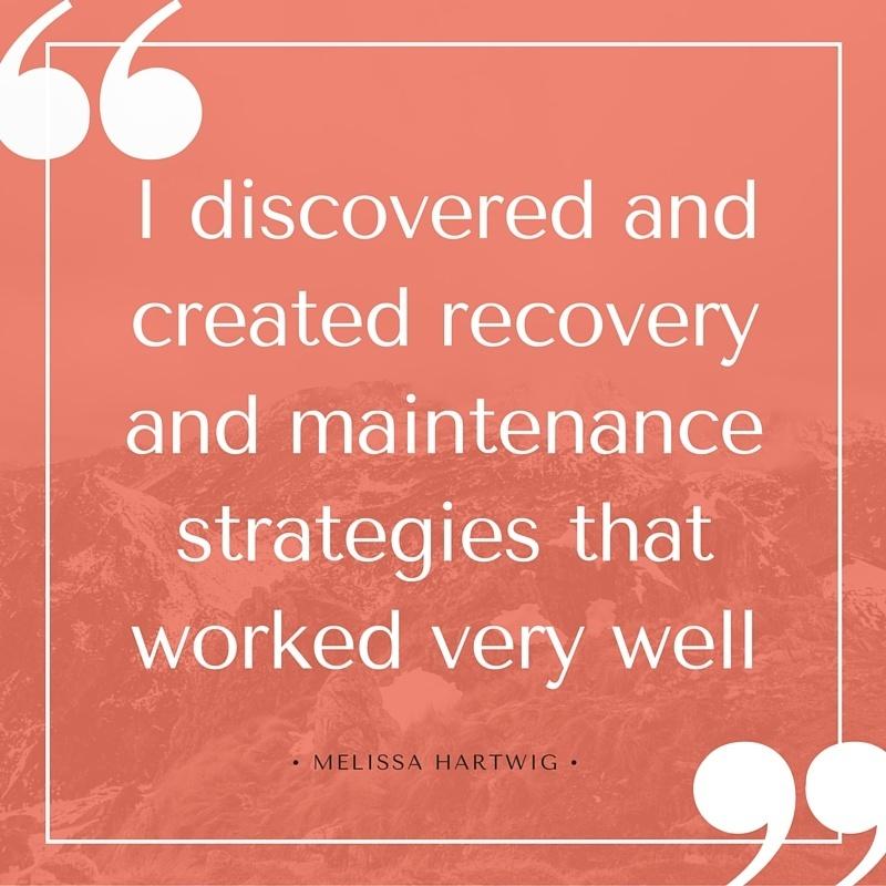 Melissa Hartwig Addiction Quote