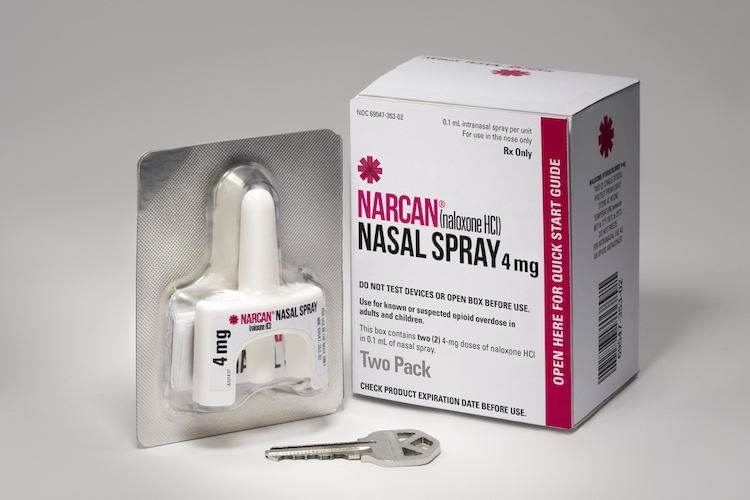 4mg Narcan Nasal Spray